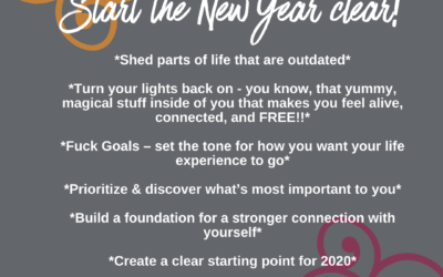 Start the New Year Clear!